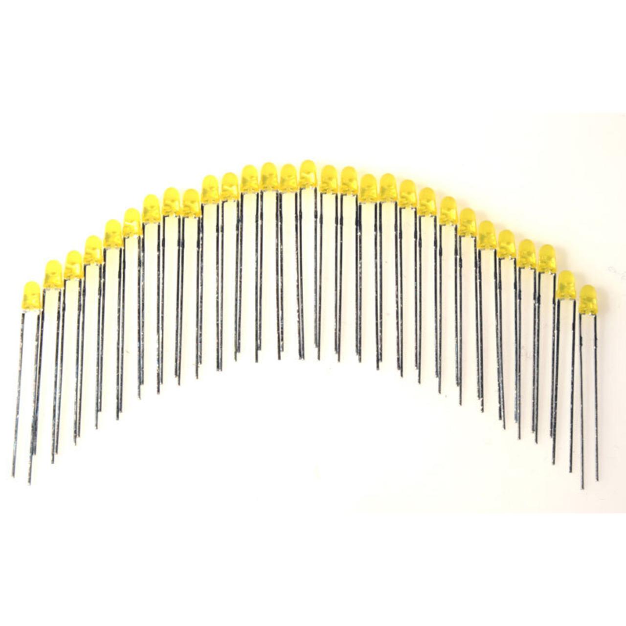 ELV LED-Set mit 29 LEDs- gelb- 3 mm