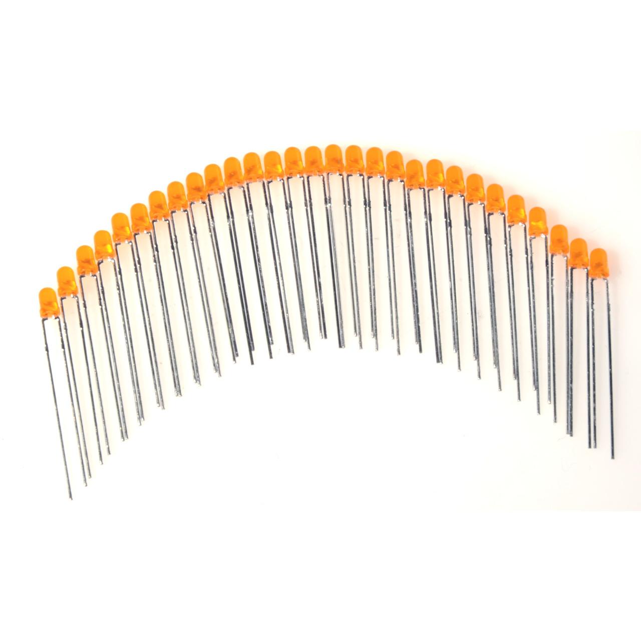 ELV LED-Set mit 29 LEDs- orange- 3 mm