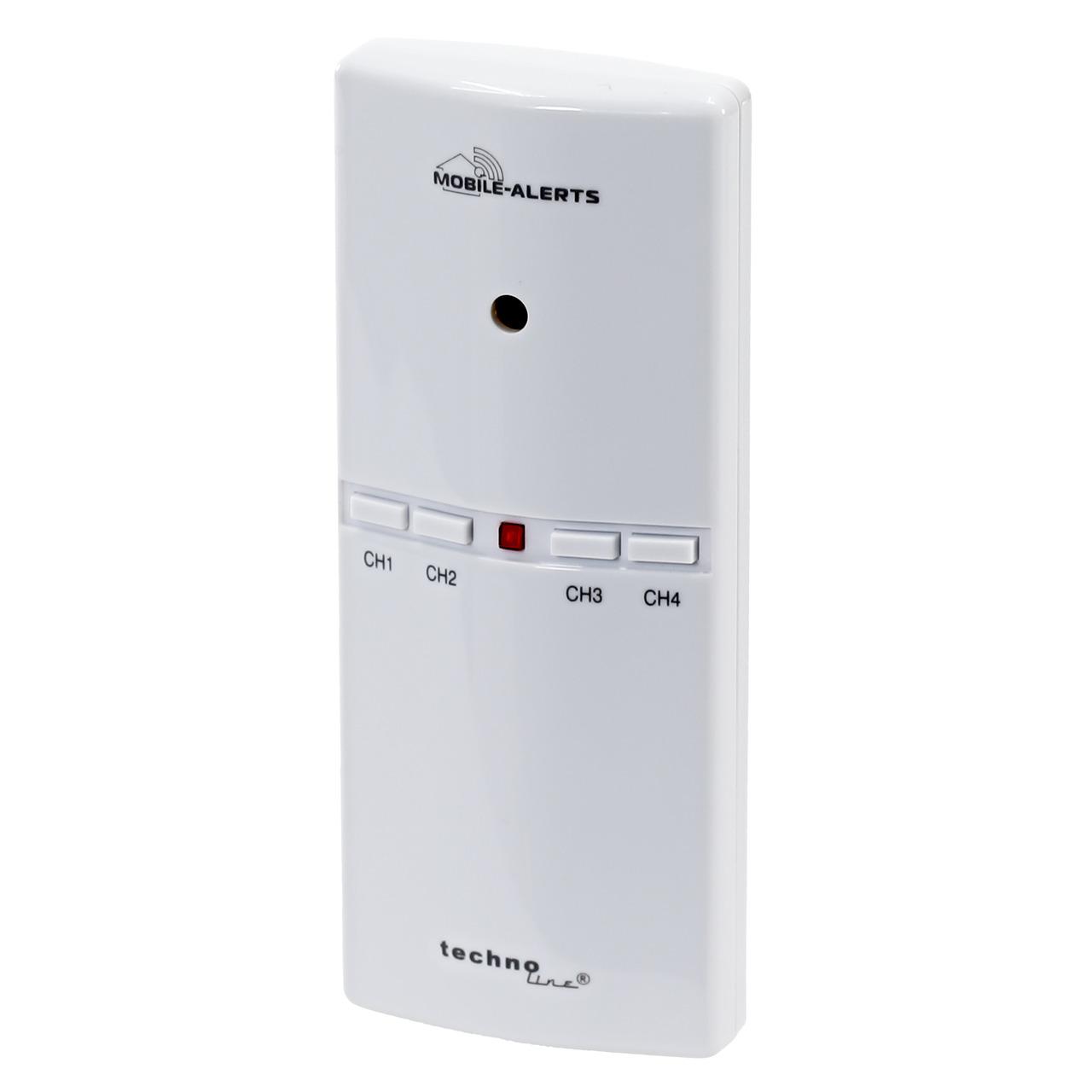 ELV Mobile Alerts Alarmgeber MA10860 für Gefahrenmelder- inkl- Temperatursensor
