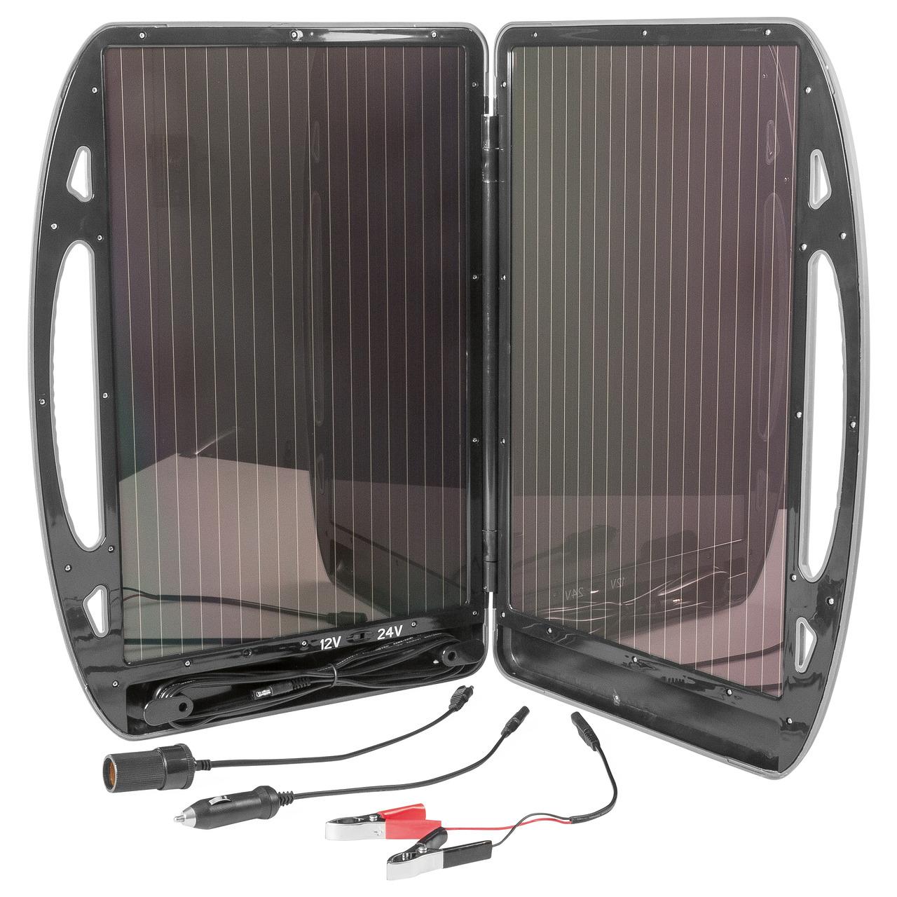ELV Mobiler Solar-Lader- 12-24V- 13 W