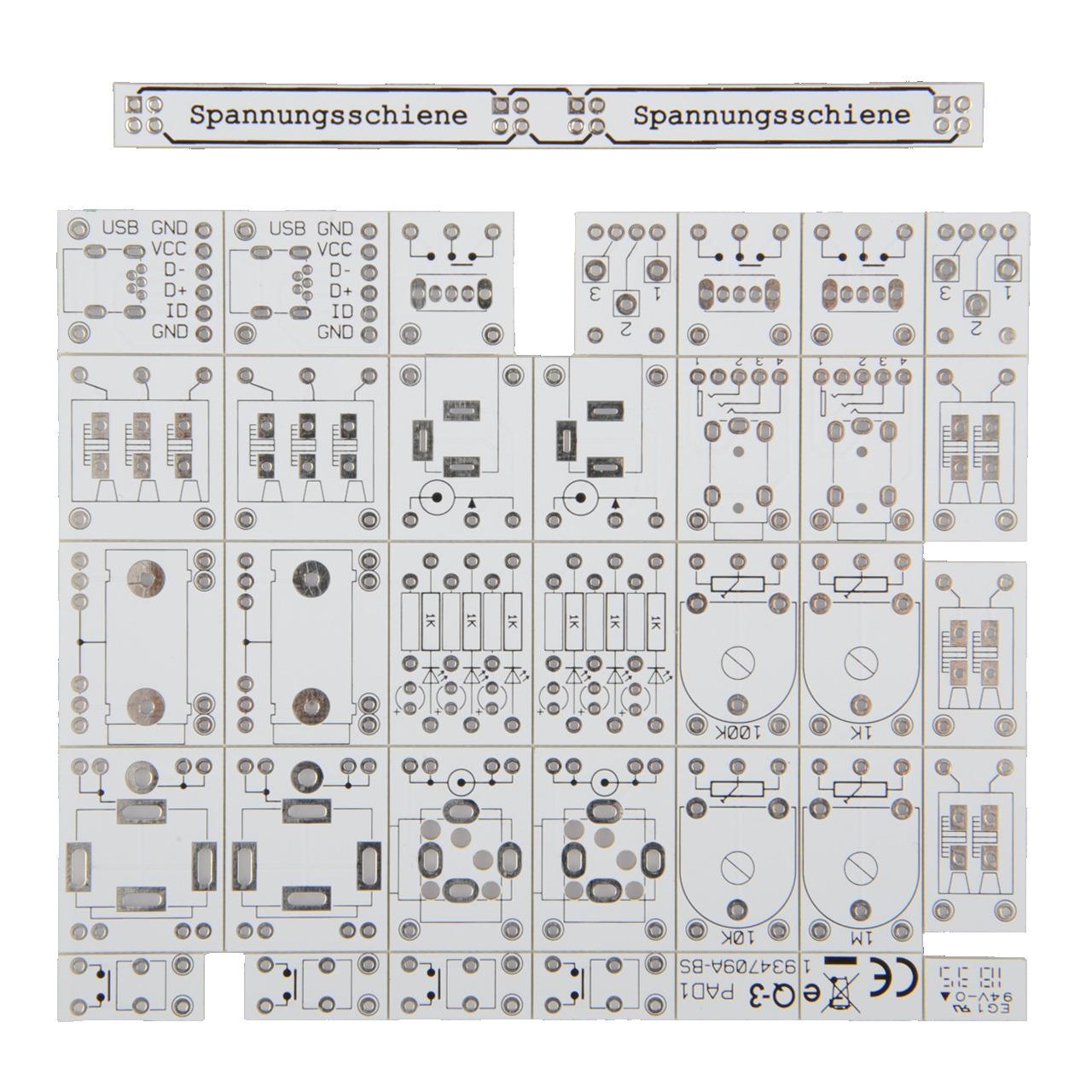 ELV Platinensatz fund-252 r PAD1 Prototypenadapter