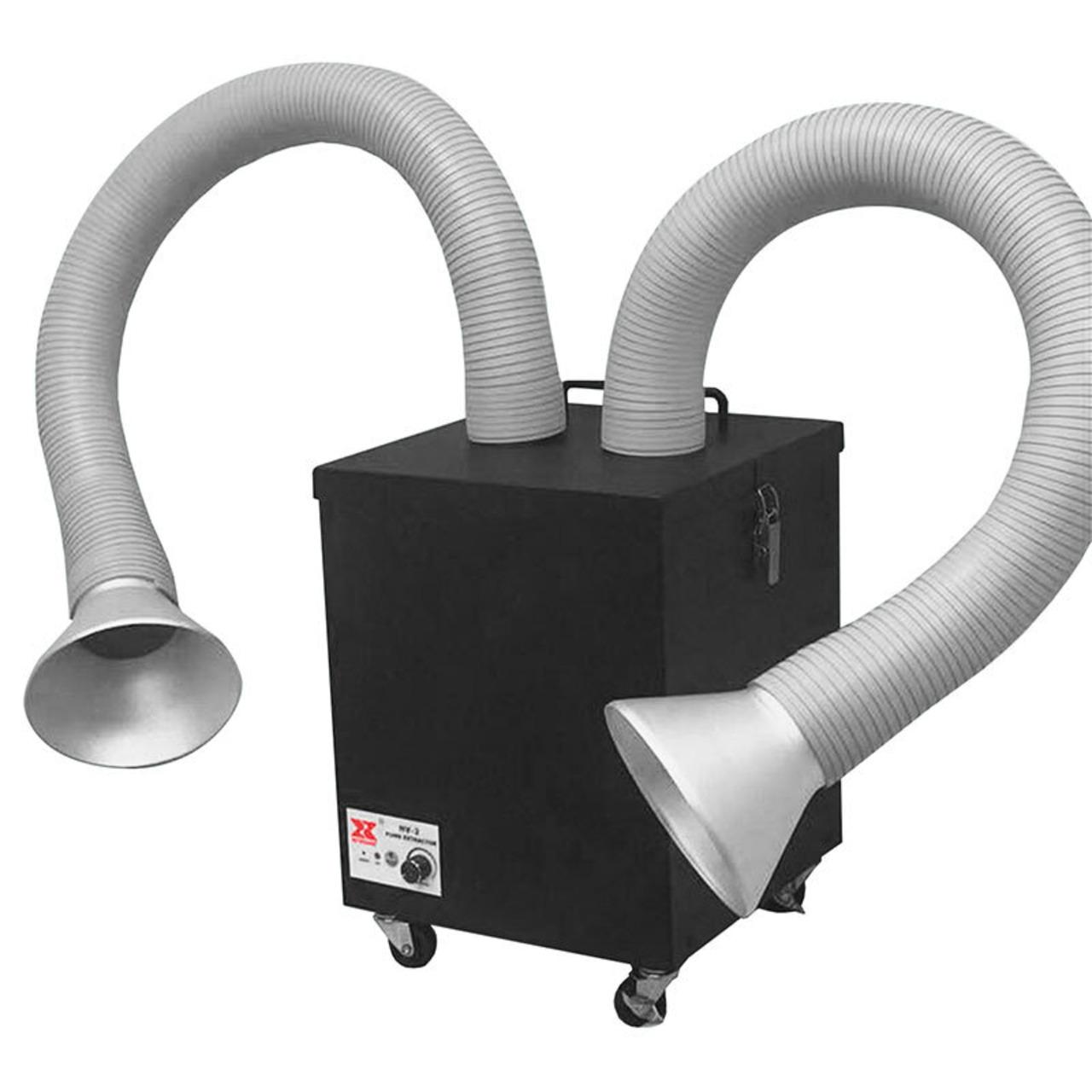 ELV Profi-Lötrauch-Absauggerät mit HEPA-Filter- Absaugleistung regulierbar- für 2 Arbeitsplätze