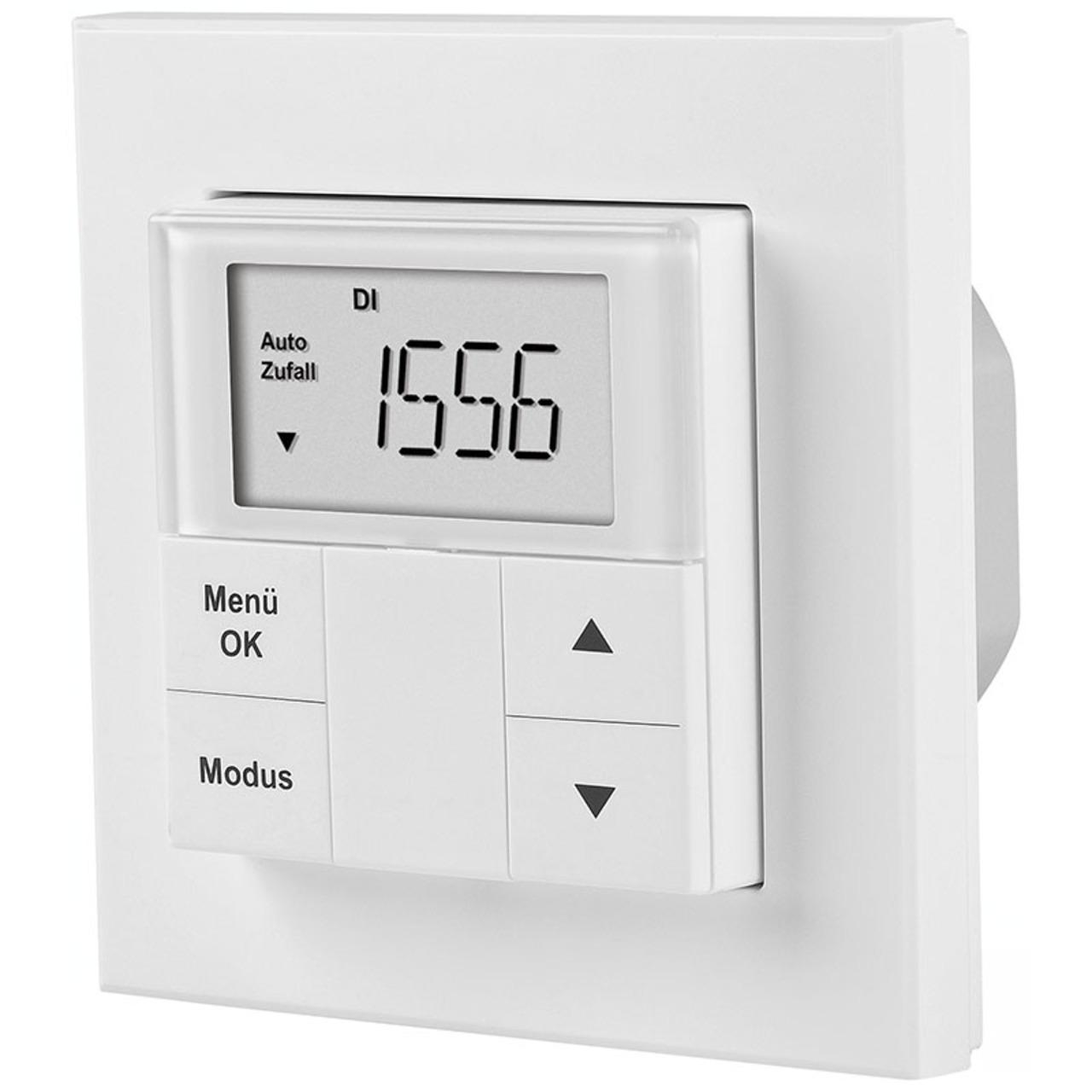 ELV RZA200 Rollladen-Zeitschaltuhr mit Astrofunktion- integrierbar in 55er Rahmen