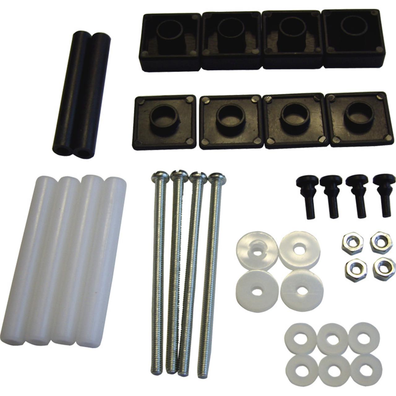 ELV Serie 7000 Montage-Zubehörsatz (36-teilig)- schwarz