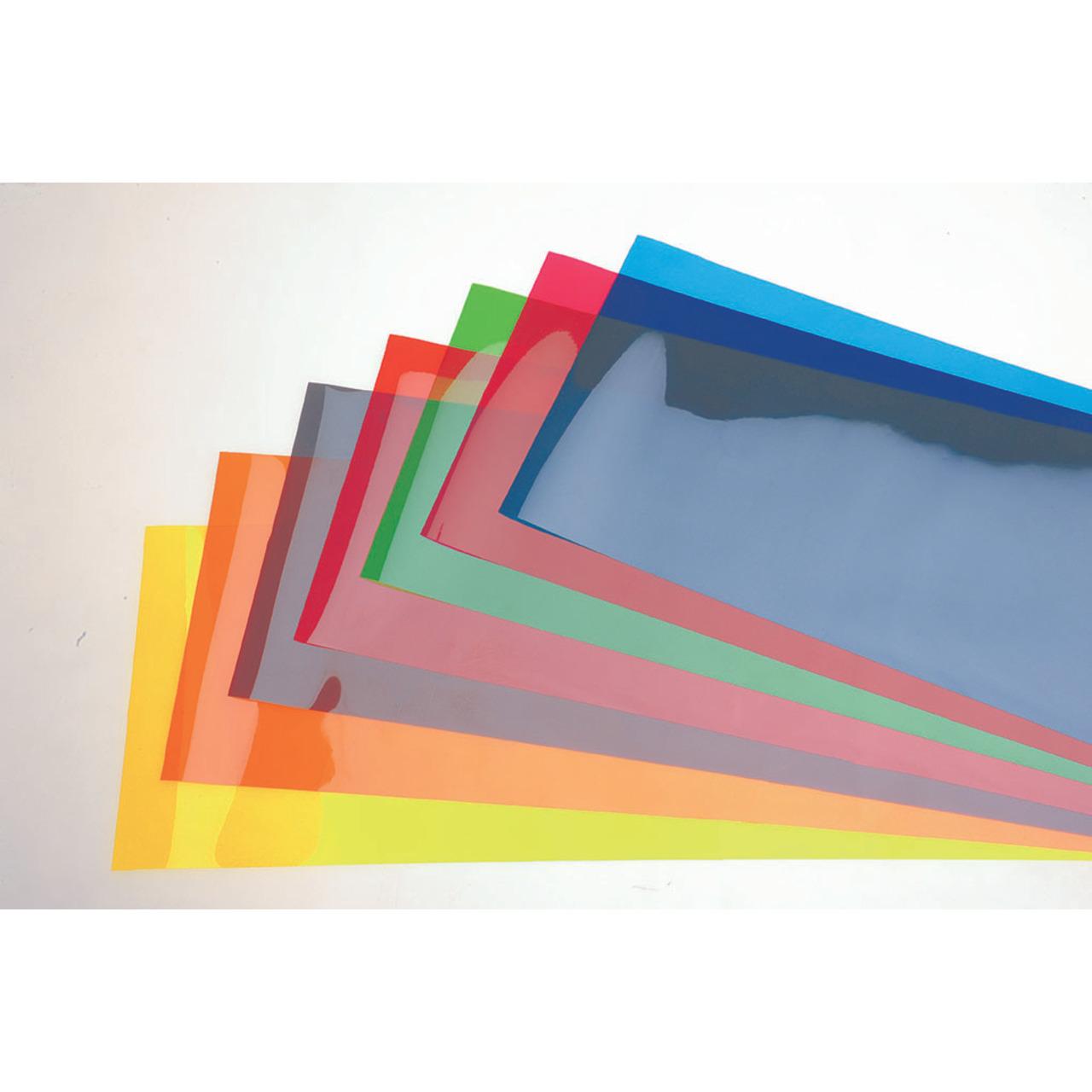 ELV Set Farbfilterfolien 100 mm x 50 mm- (8 Farben)