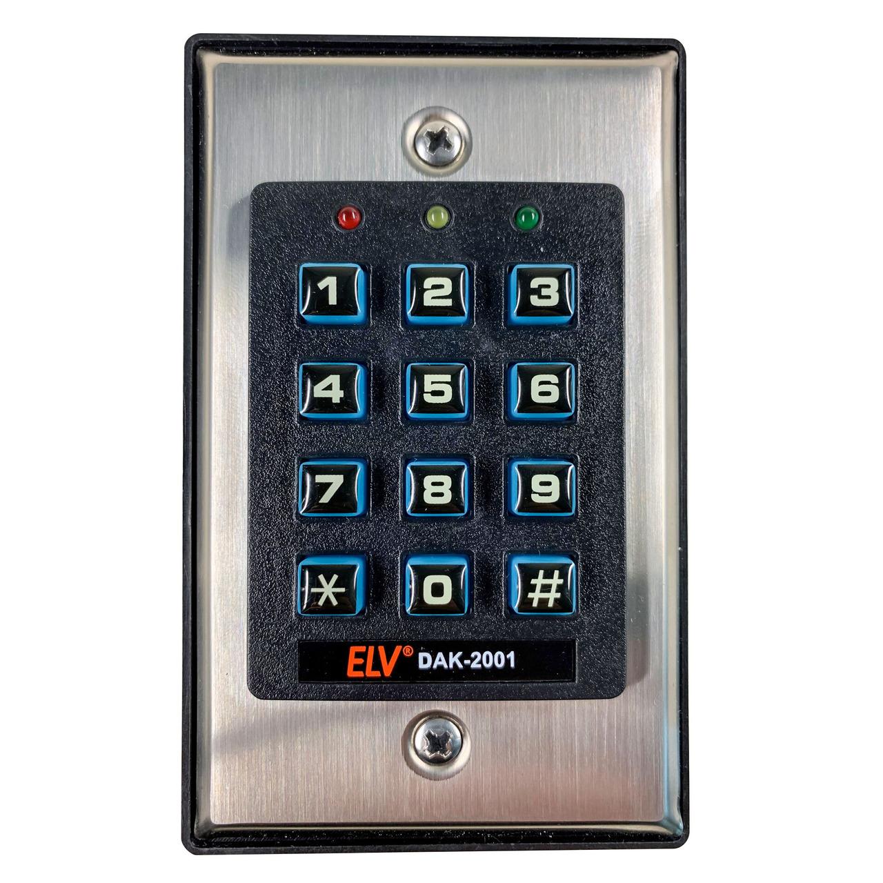 ELV Sicherheits-Digital-Codeschloss DAK 2001