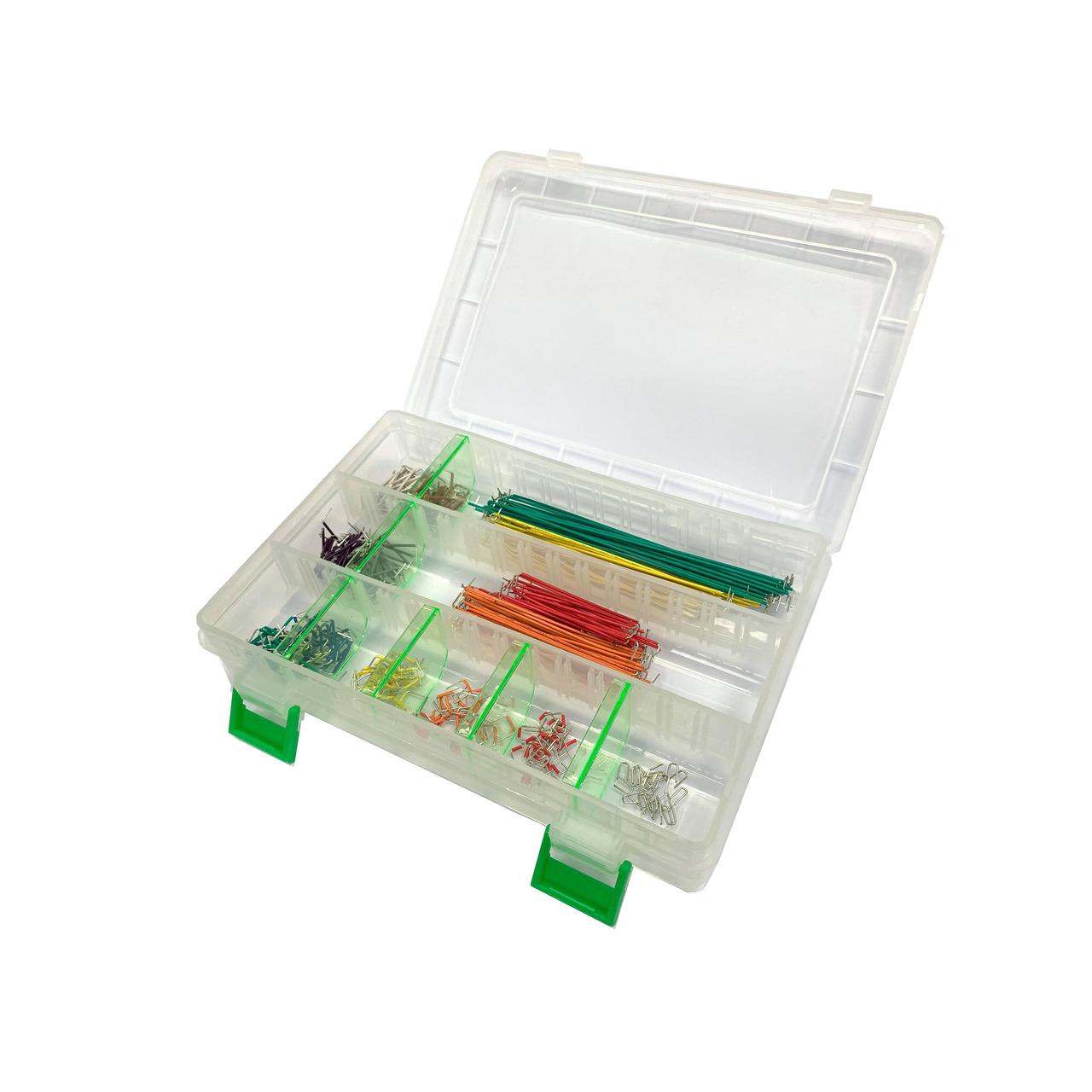 ELV Steckbrücken-Set für Steckplatinen und Breadboards- 350-teilig