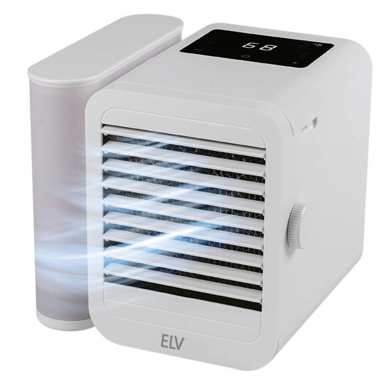 ELV Verdunstungskühler VK100- Luftkühler und Lufterfrischer in einem