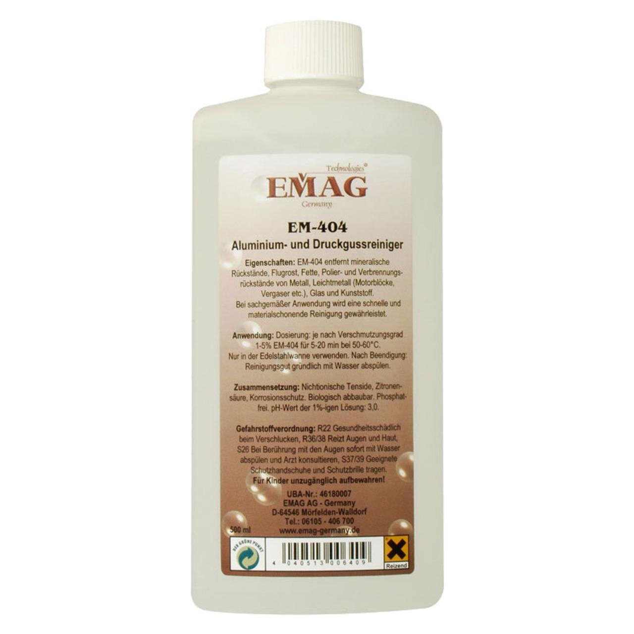 EMAG Aluminium- und Druckgussreiniger EM-404- 500 ml