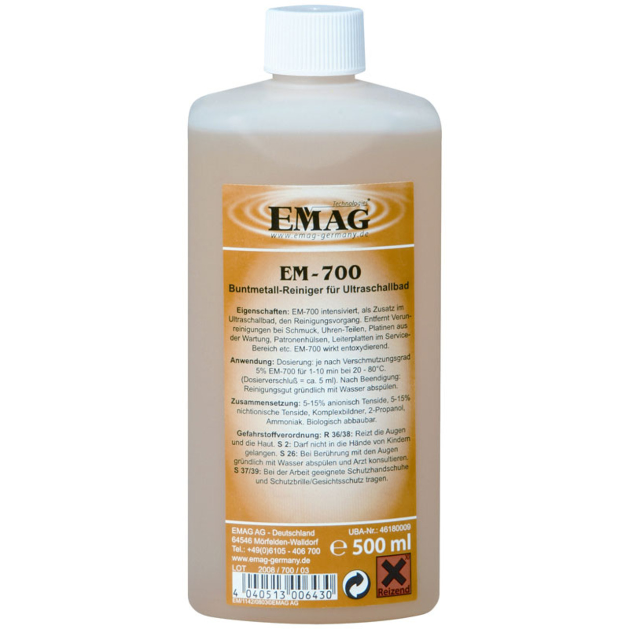 EMAG Buntmetallreiniger EM-700- 500 ml
