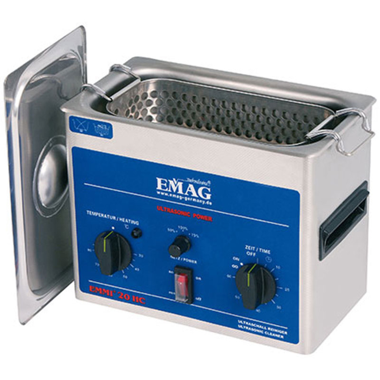 EMAG EMMI 20HC Ultraschall-Reinigungsgerät- 2-0 L- 120 W