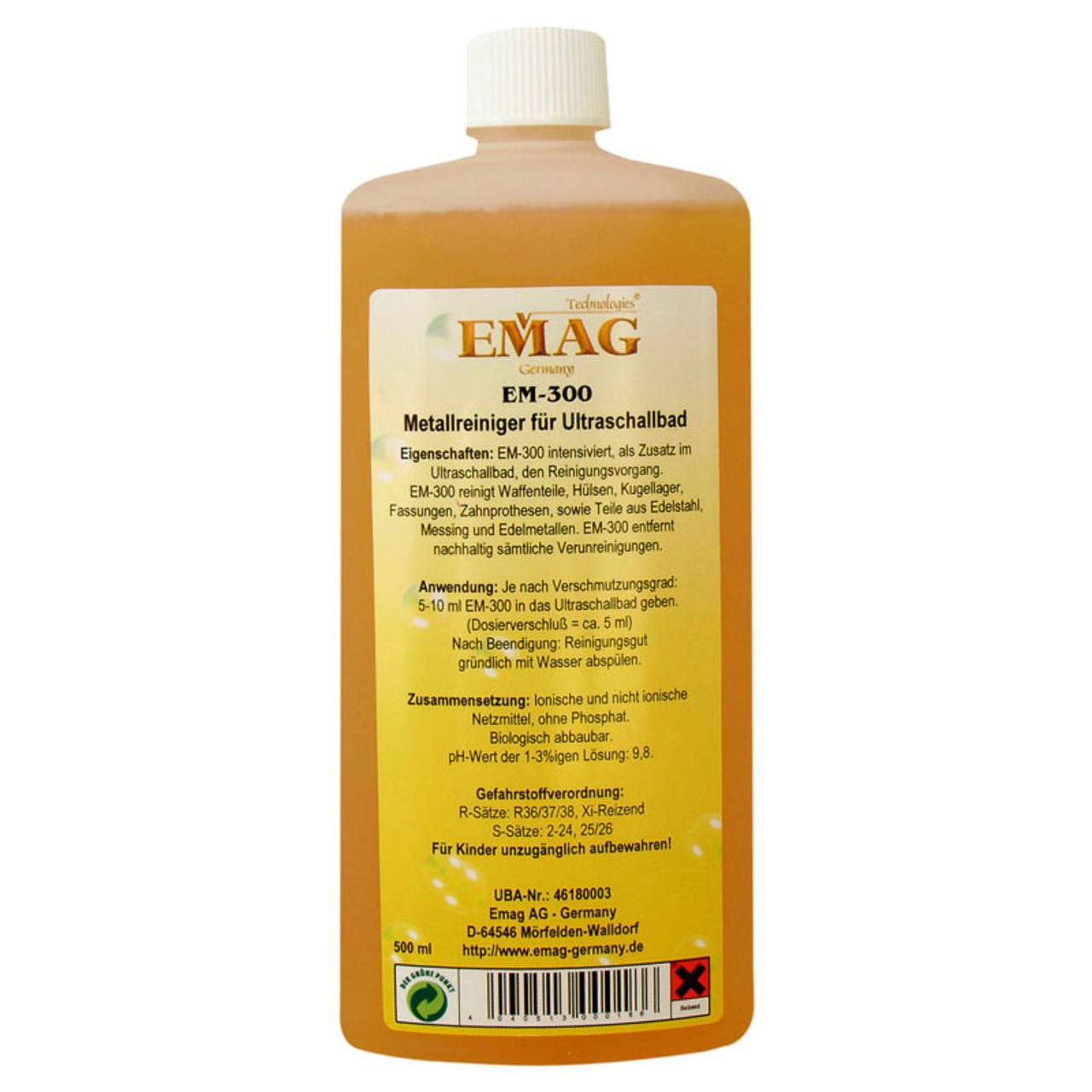EMAG Metallreiniger EM-300- 500 ml