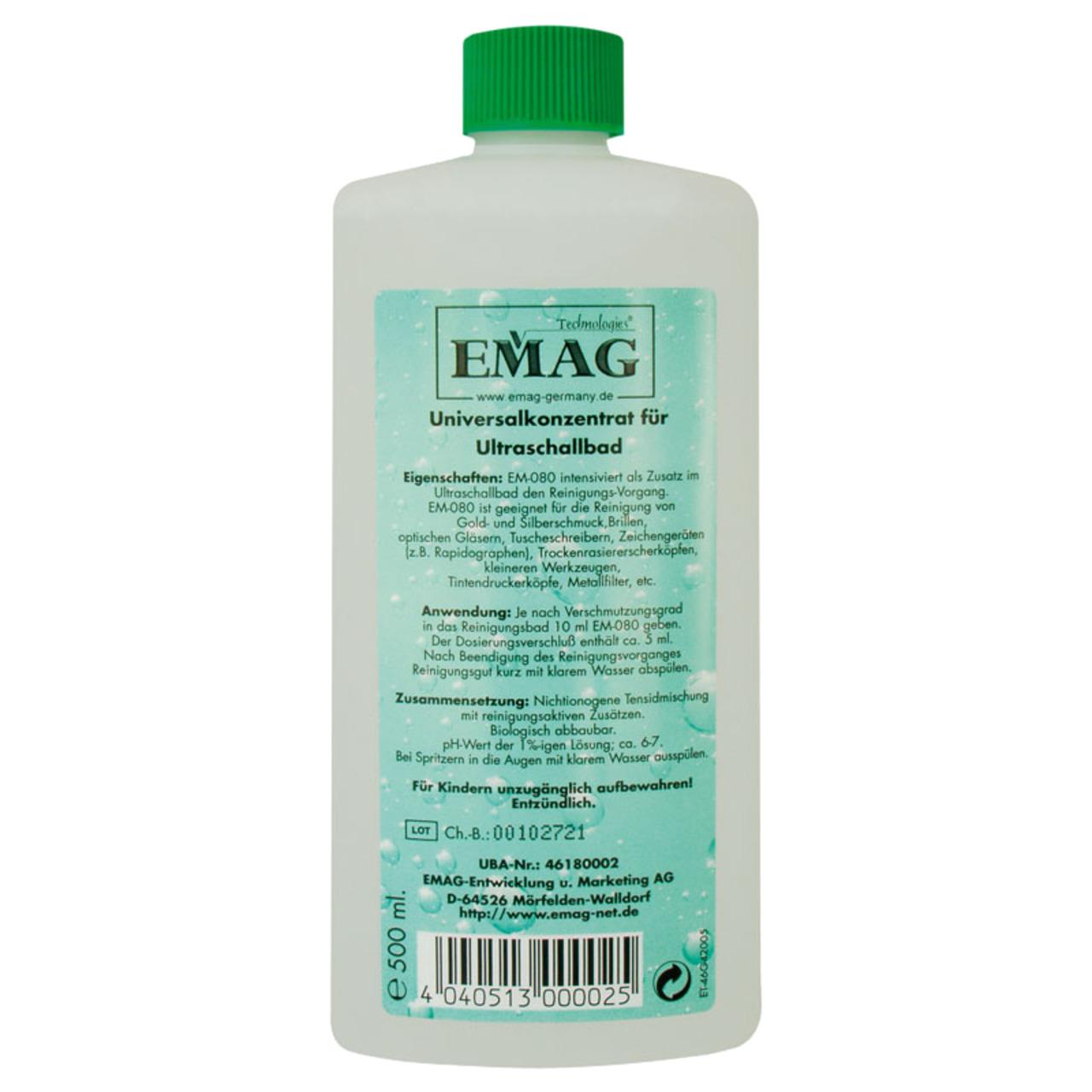 EMAG Universal-Reinigungskonzentrat EM-80- 500 ml