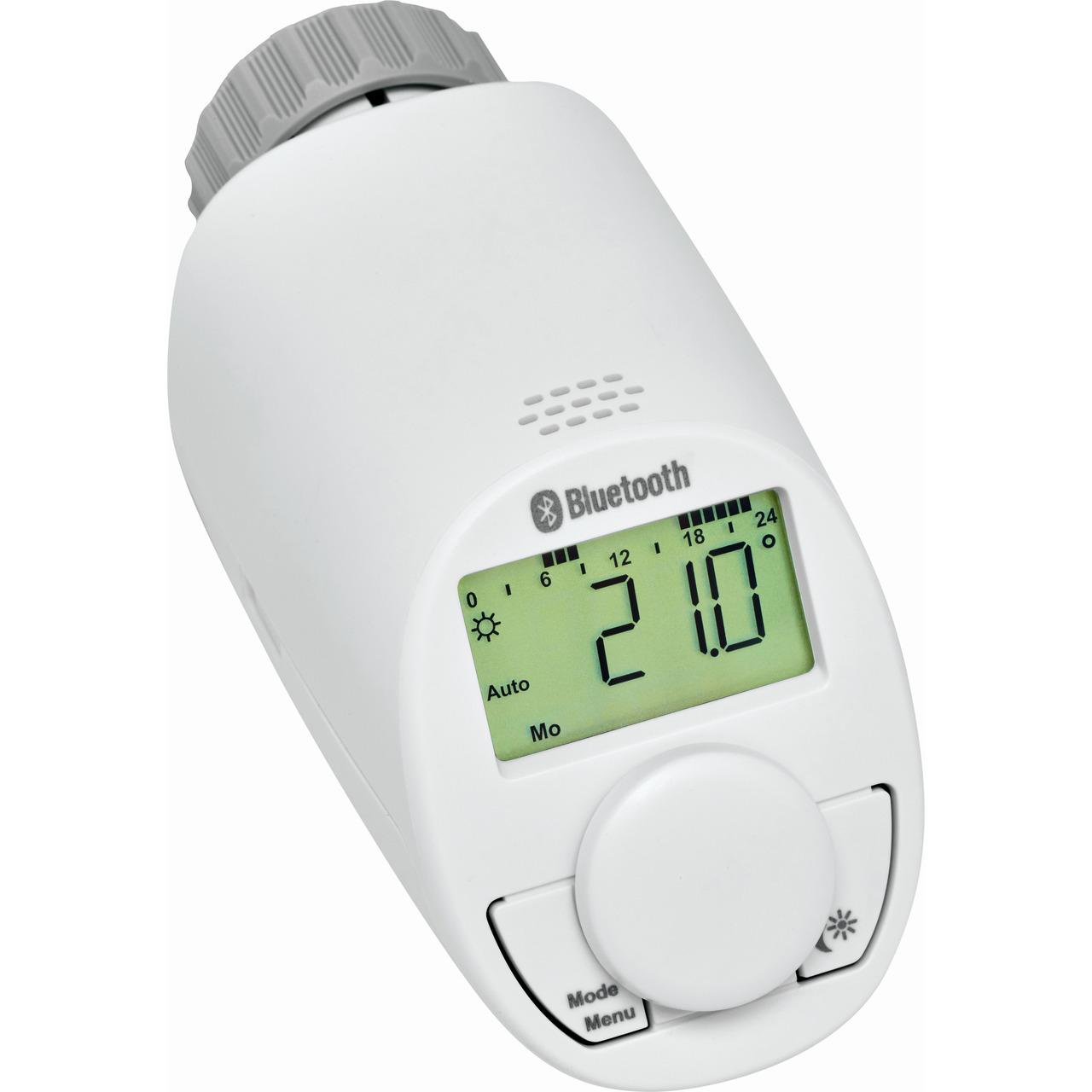 Eqiva BLUETOOTH(R) Smart Heizkörperthermostat- mit App-Steuerung
