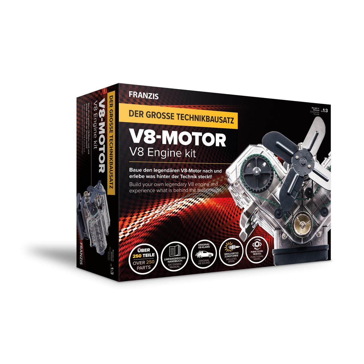 Franzis Technikbausatz V8 Motor