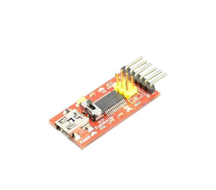 FTDI Basic Program Downloader -  USB zu TTL FT232 - Breakout Modul 3-3V 5V