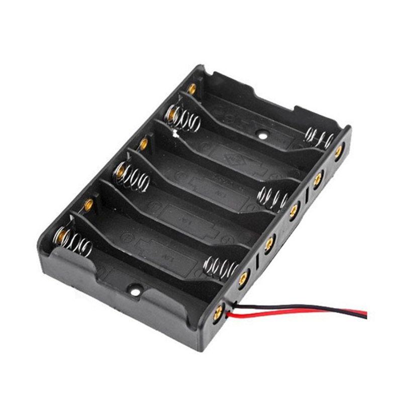 Gehäuse für 6x AA Batterien 9V