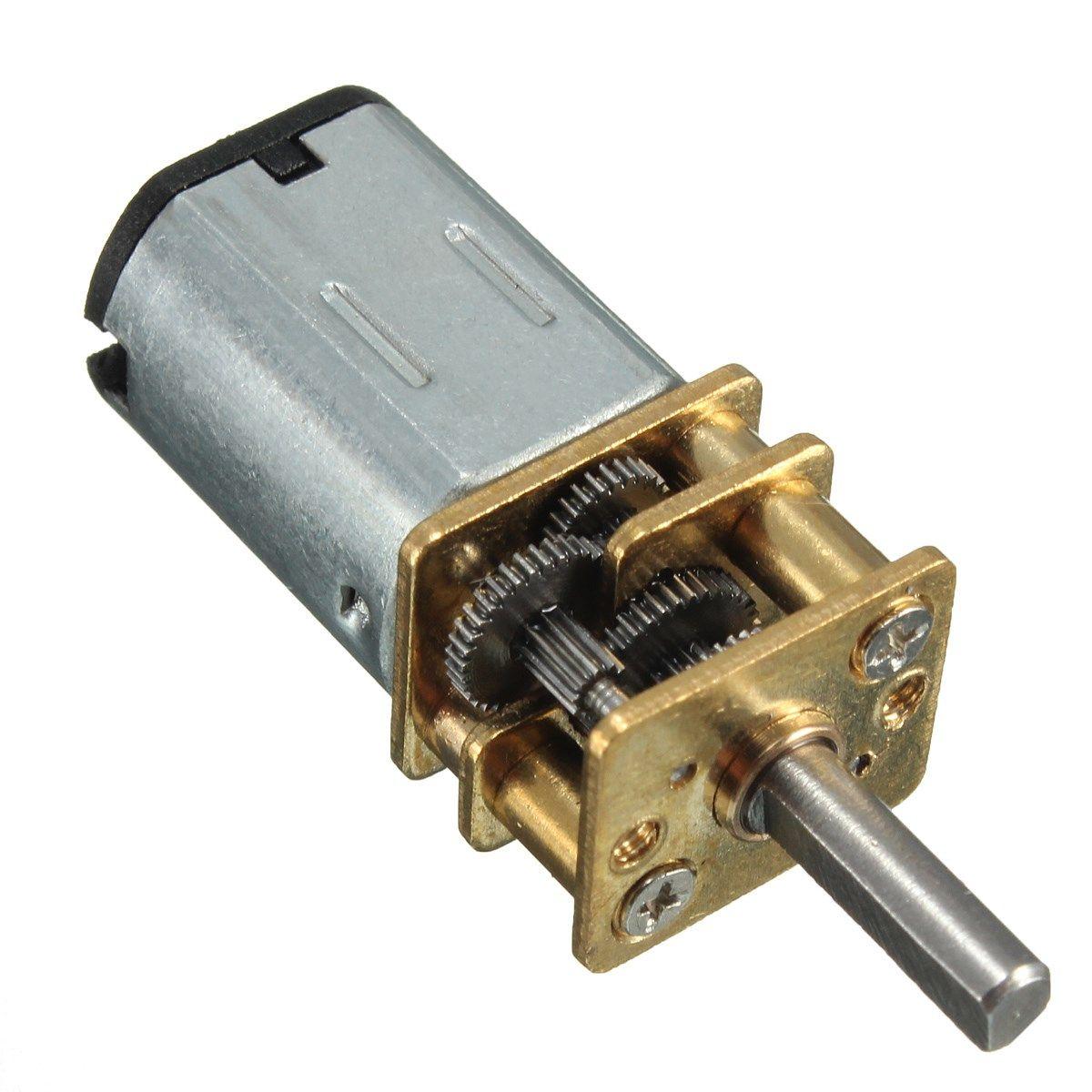 Getriebemotor 6VDC 30Upm N20 12mm