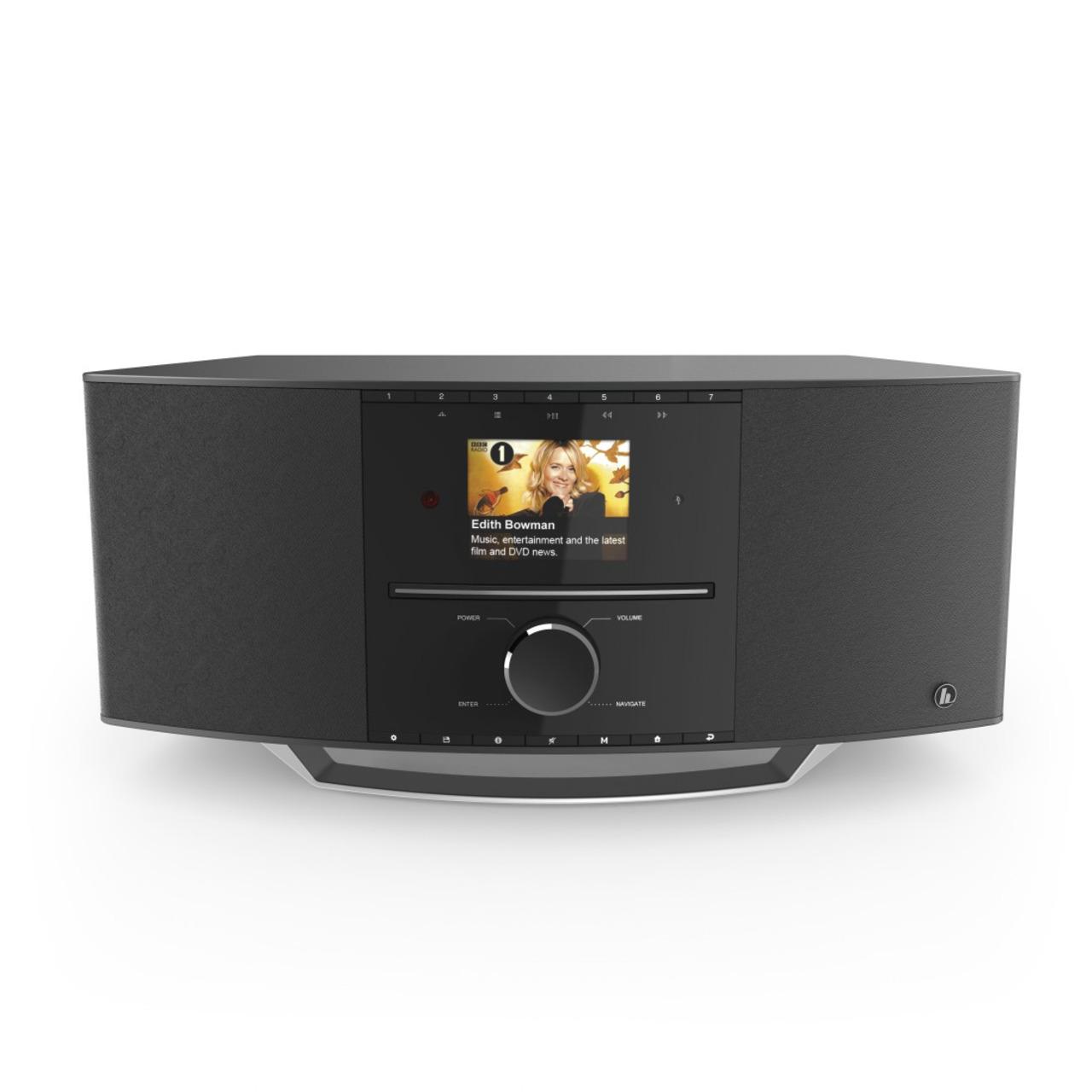 hama Digitalradio DIR3510SCBTX- DAB+-UKW-Internetradio- Bluetooth RX-TX- CD-Player- 40-W-RMS