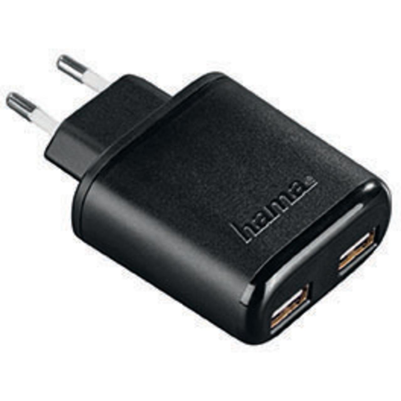 hama USB-Dual-Ladegerät 5V - 4-8A