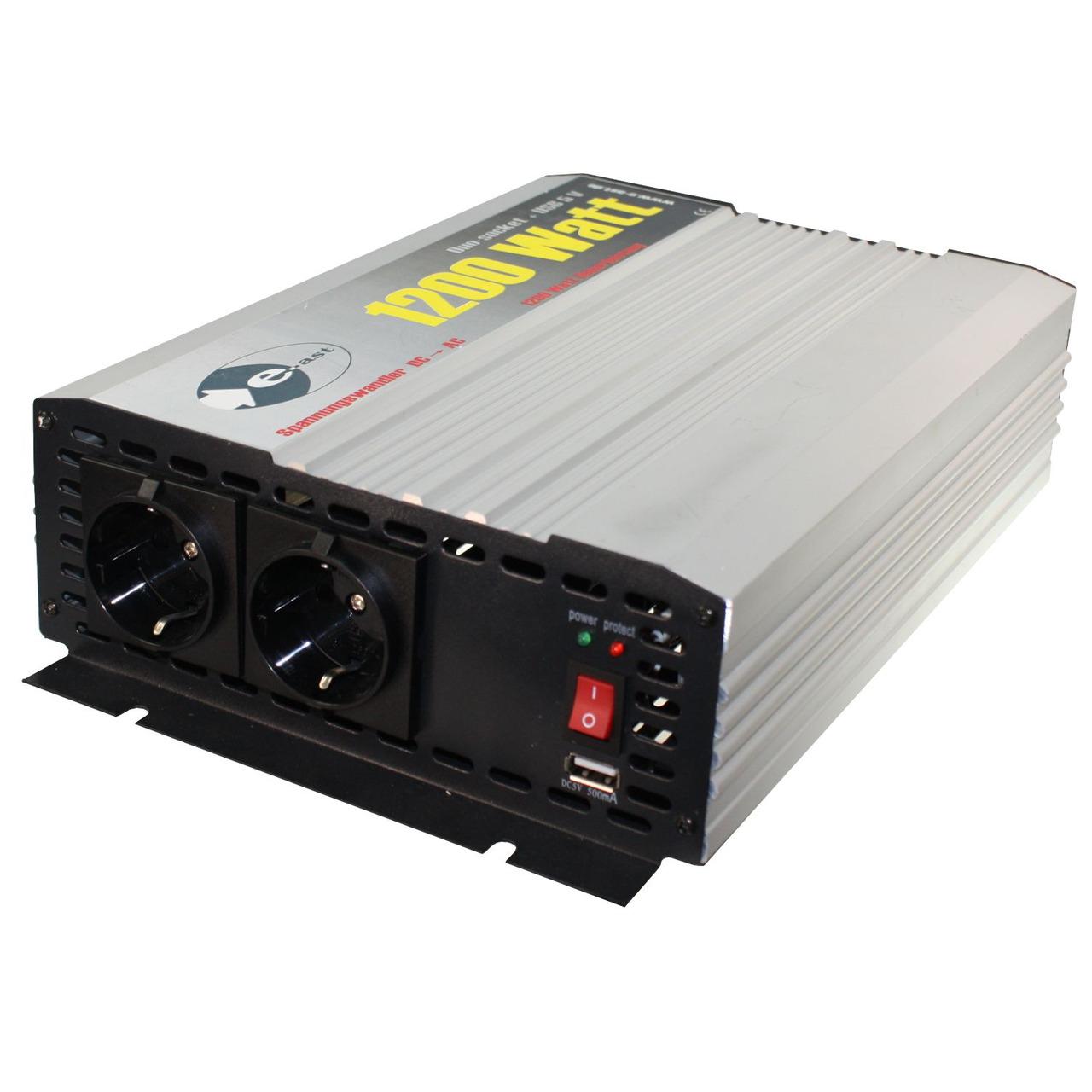 heicko Wechselrichter HighPower HPL1200-D-12 12V- 1200 VA