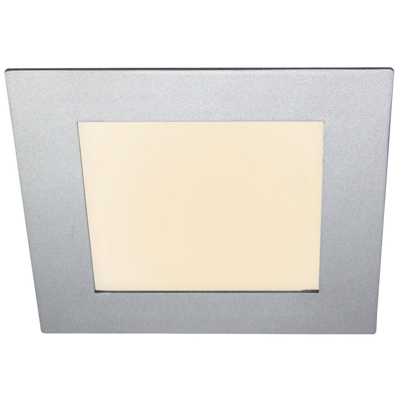 HEITRONIC 11-W-LED-Panel Toulouse- Einbaumass 170x170 mm- Einbautiefe 20 mm- warmweiss- dimmbar- IP44