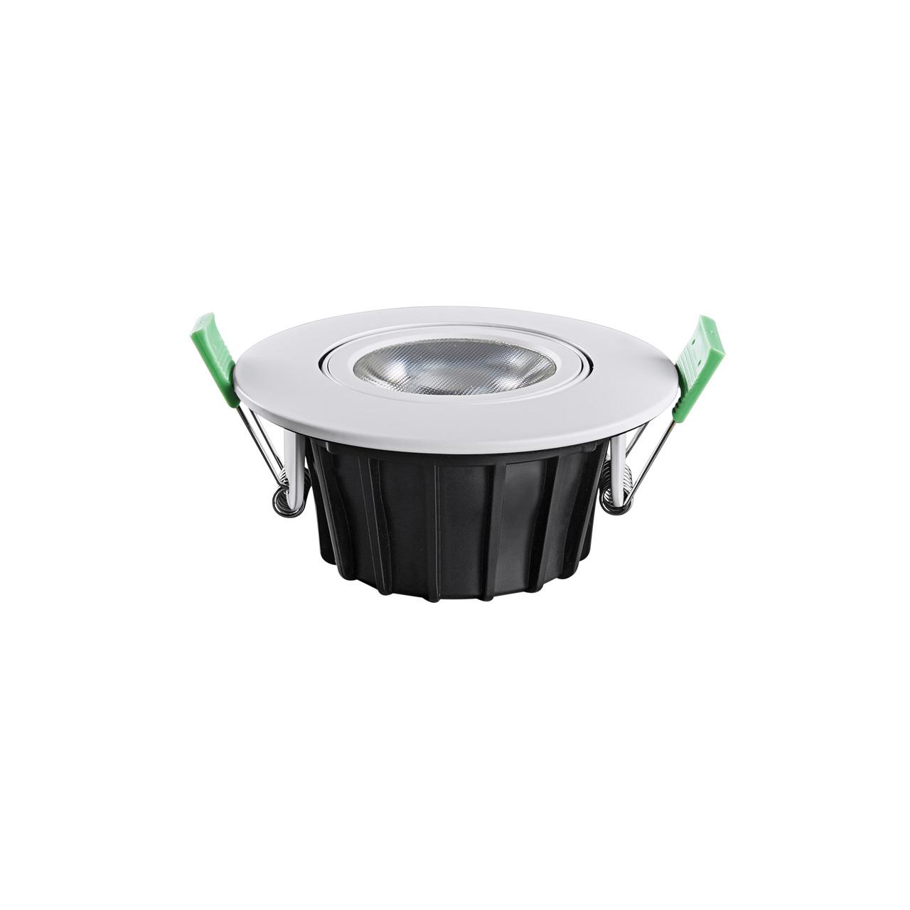 HEITRONIC 8-5-W-LED-Einbaustrahler DL8002- Farbtemperatur einstellbar- schwenkbar- dimmbar- IP65