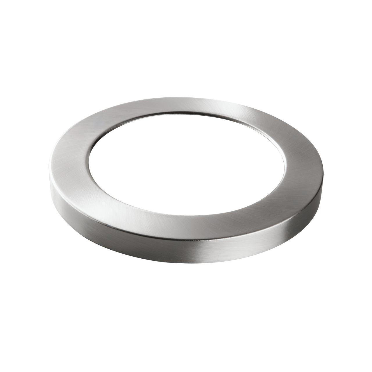 HEITRONIC Metallring fund-252 r LED-Panel SELESTO- nickel matt
