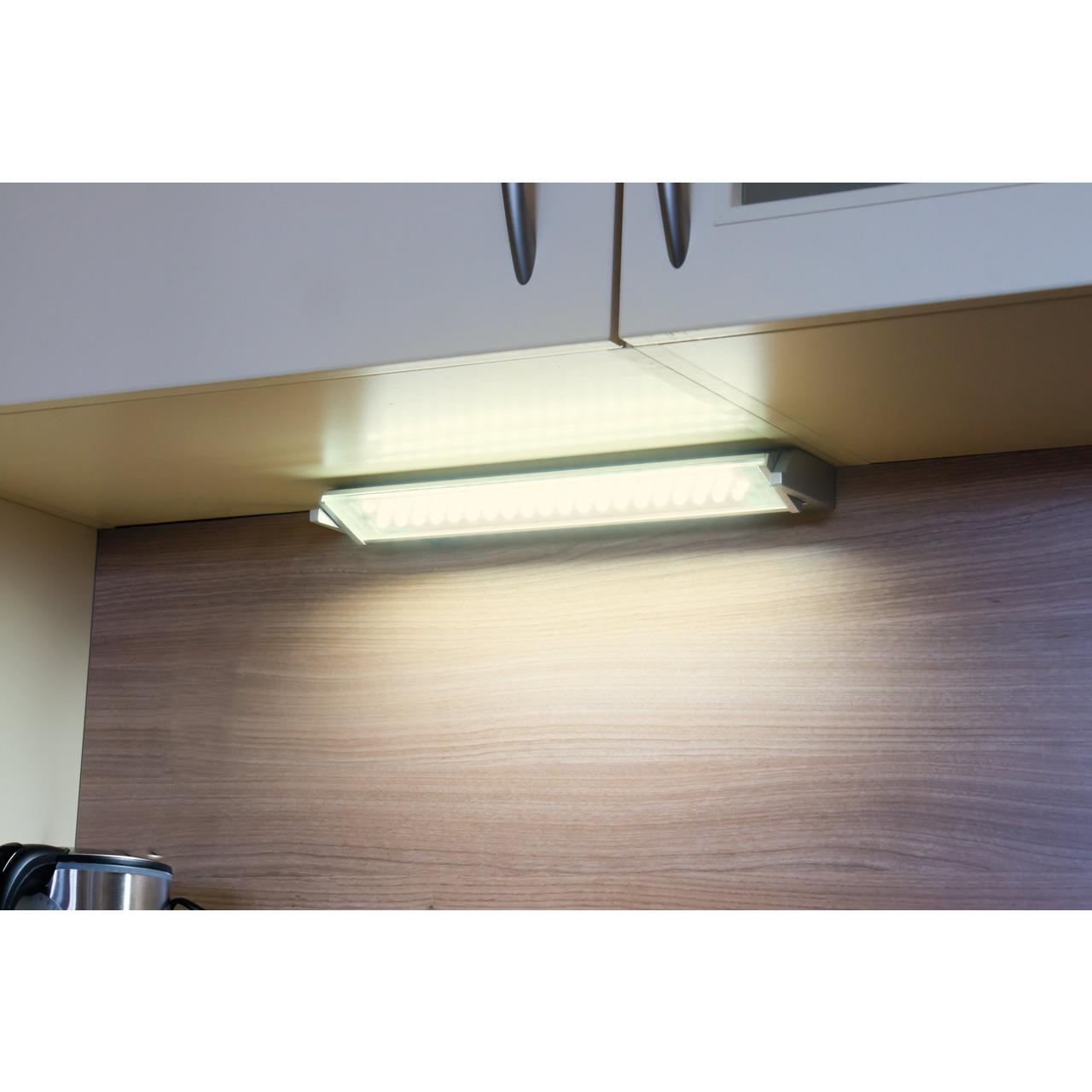 HEITRONIC Schwenkbare LED-Unterbauleuchte MIAMI- 10 W- 680 lm- warmweiss- 58 cm