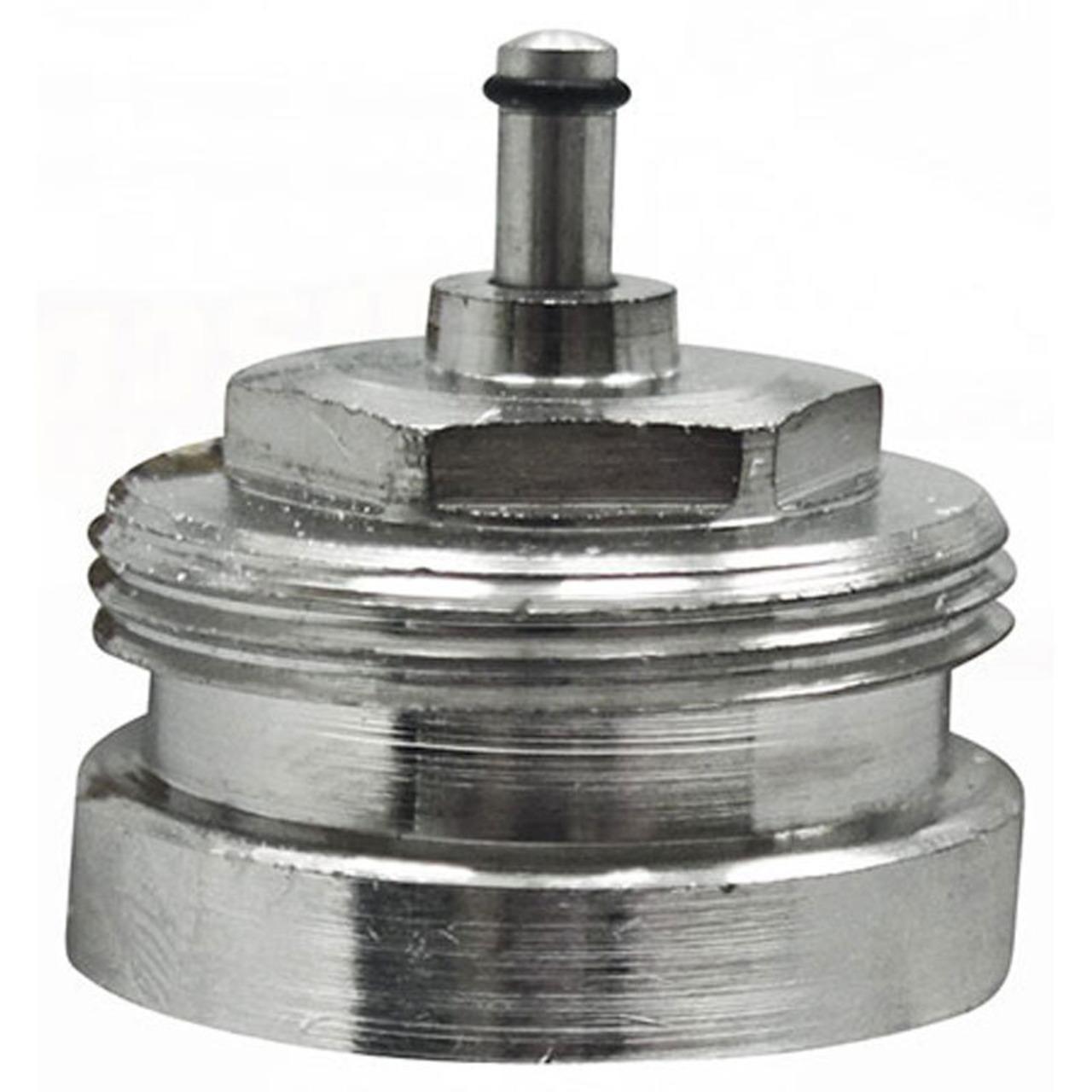 Heizungsventiladapter für Herz M28 x 1-5 (Messing)