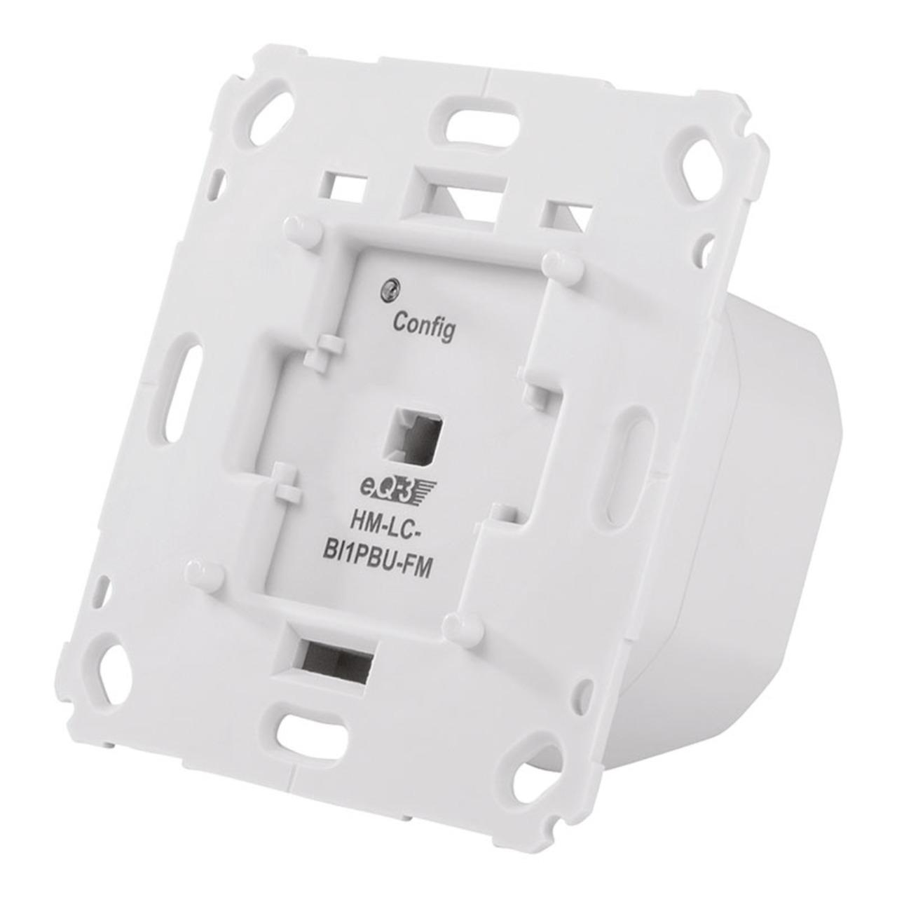 Homematic Funk-Rollladenaktor für Markenschalter- 1fach Unterputzmontage HM-LC-Bl1PBU-FM
