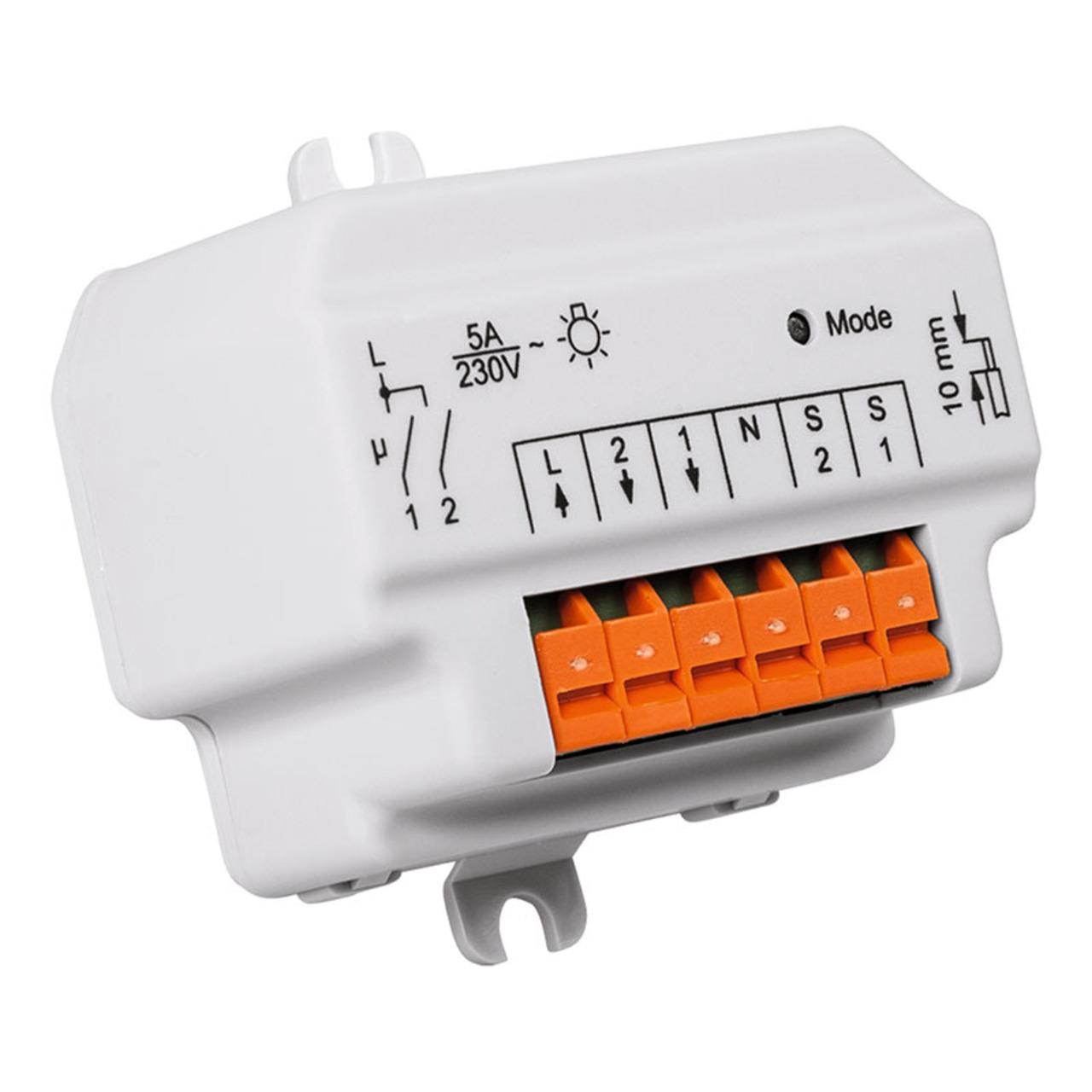 Homematic Funk-Schaltaktor 2fach- Unterputzmontage HM-LC-Sw2-FM für Smart Home - Hausautomation