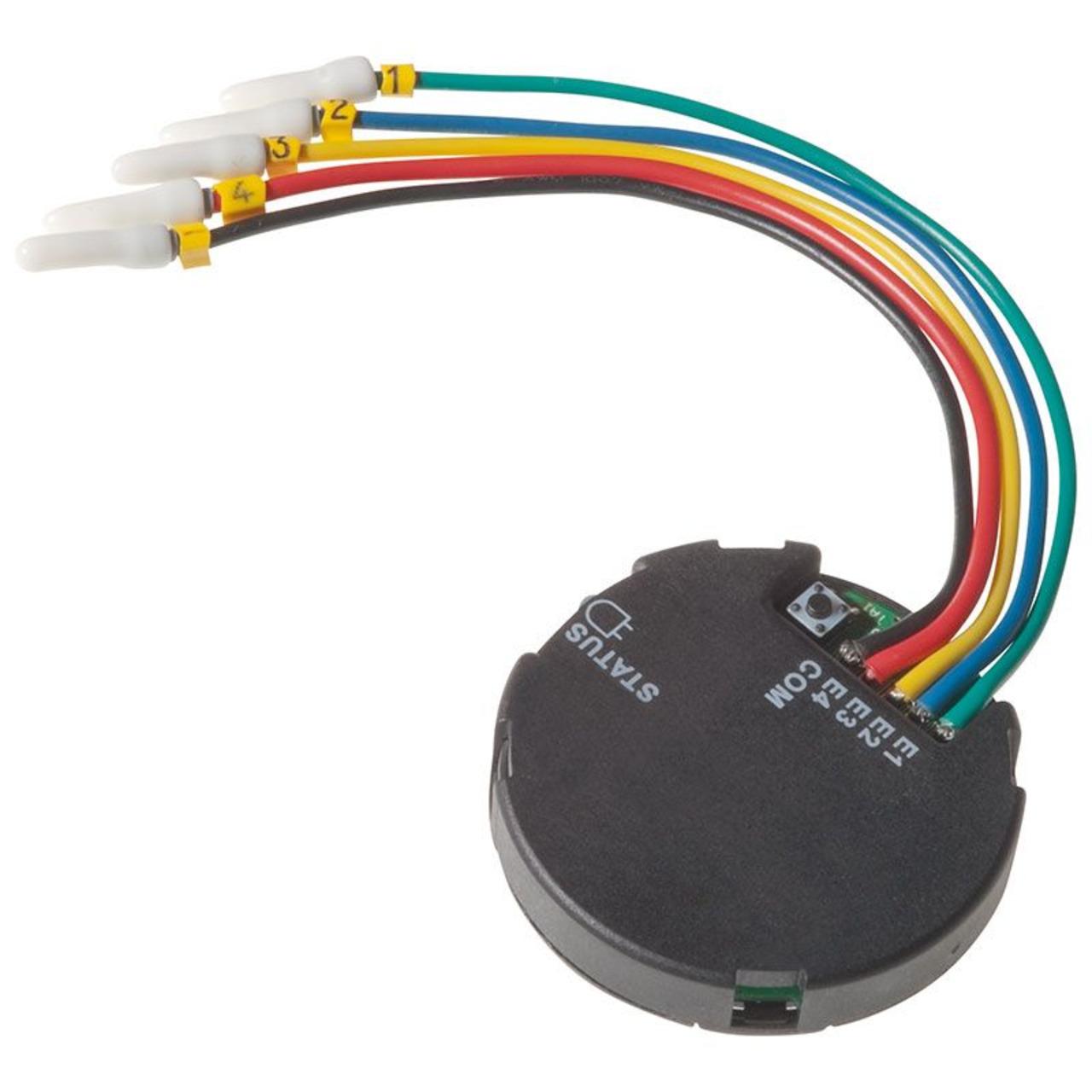 Homematic Funk-Tasterschnittstelle 4fach- Unterputzmontage HM-PBI-4-FM