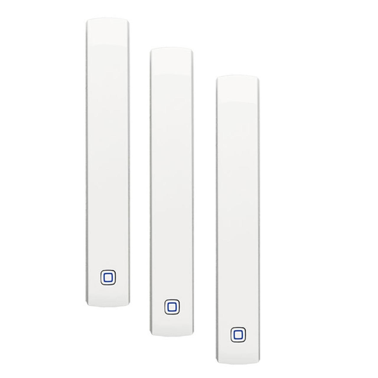 Homematic IP 3er Set Fenster- und Türkontakt HMIP-SWDO- optisch für Smart Home - Hausautomation