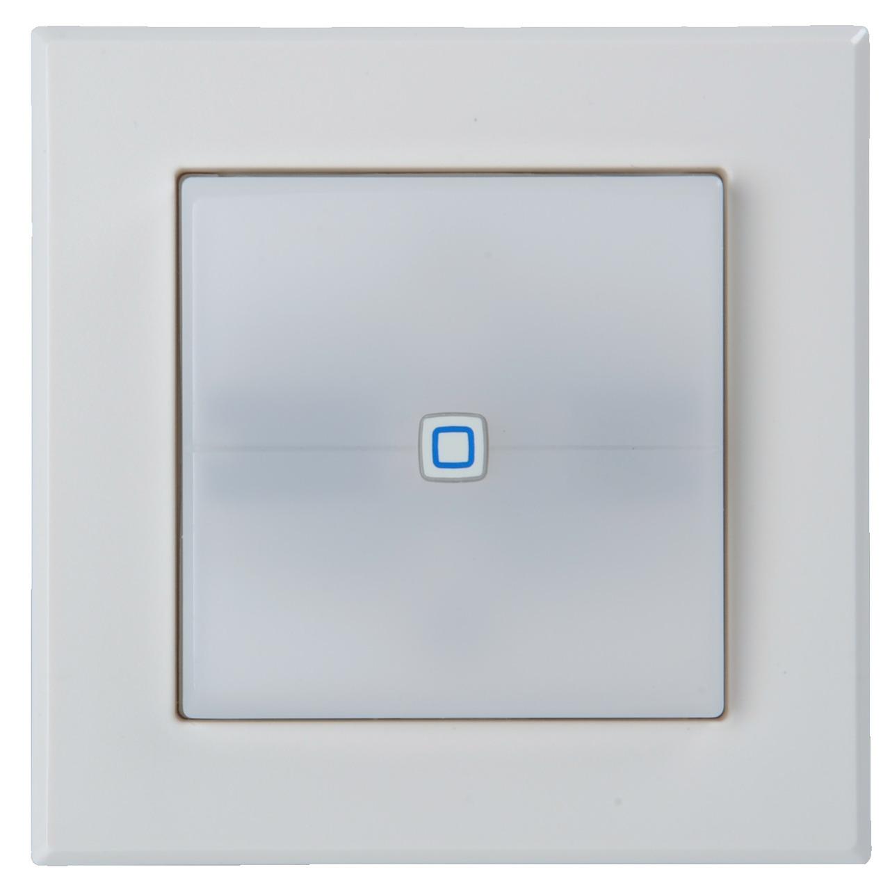Homematic IP Schaltaktor fund-252 r Markenschalter mit Signalleuchte HmIP-BSL