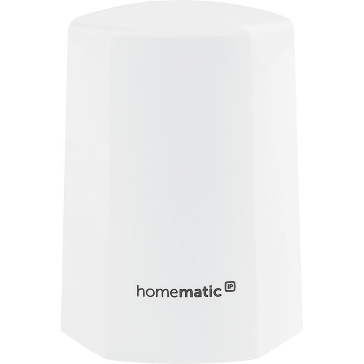 Homematic IP Smart Home Funk-Temperatur- und Luftfeuchtigkeitssensor HmIP-STHO- weiss- aussen