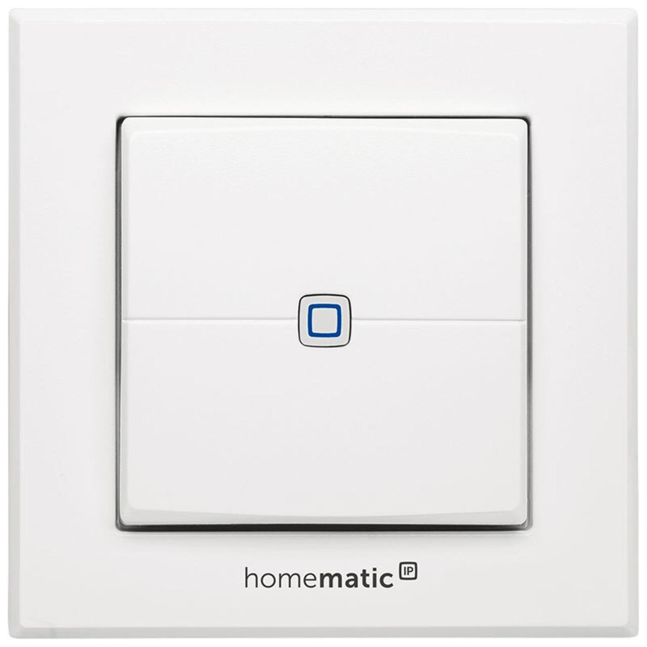 Homematic IP Smart Home Wandtaster HMIP-WRC2- 2-fach