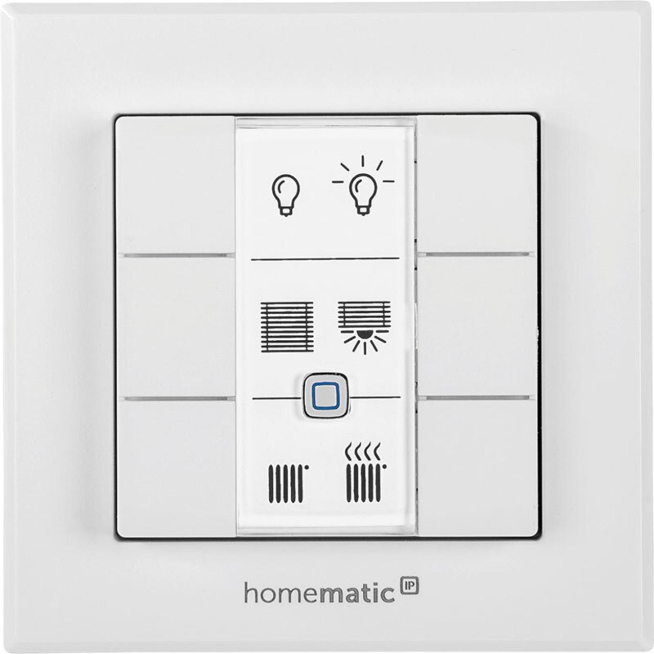 Homematic IP Smart Home Wandtaster HmIP-WRC6 - 6-fach