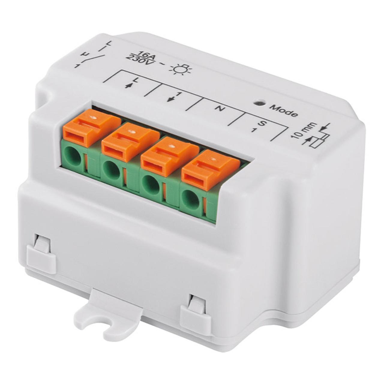 Homematic Unterputzschalter- 1fach HM-LC-SW1-FM für Smart Home - Hausautomation
