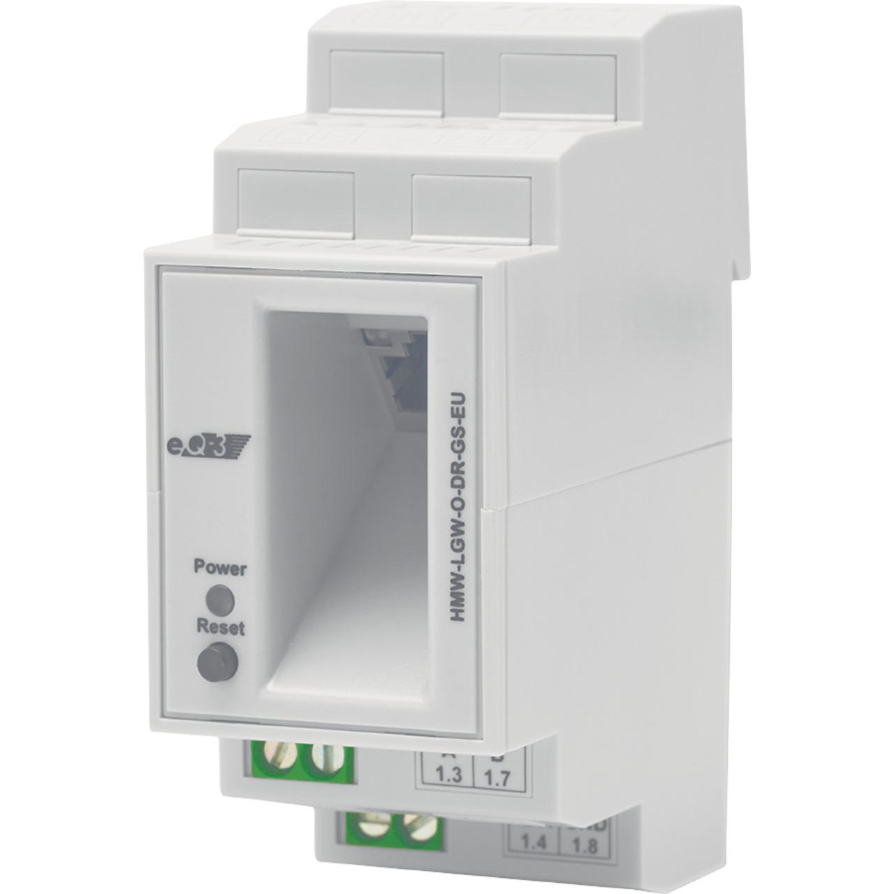 Homematic Wired RS485 LAN Gateway- Hutschienenmontage HMW-LGW-O-DR-GS-EU