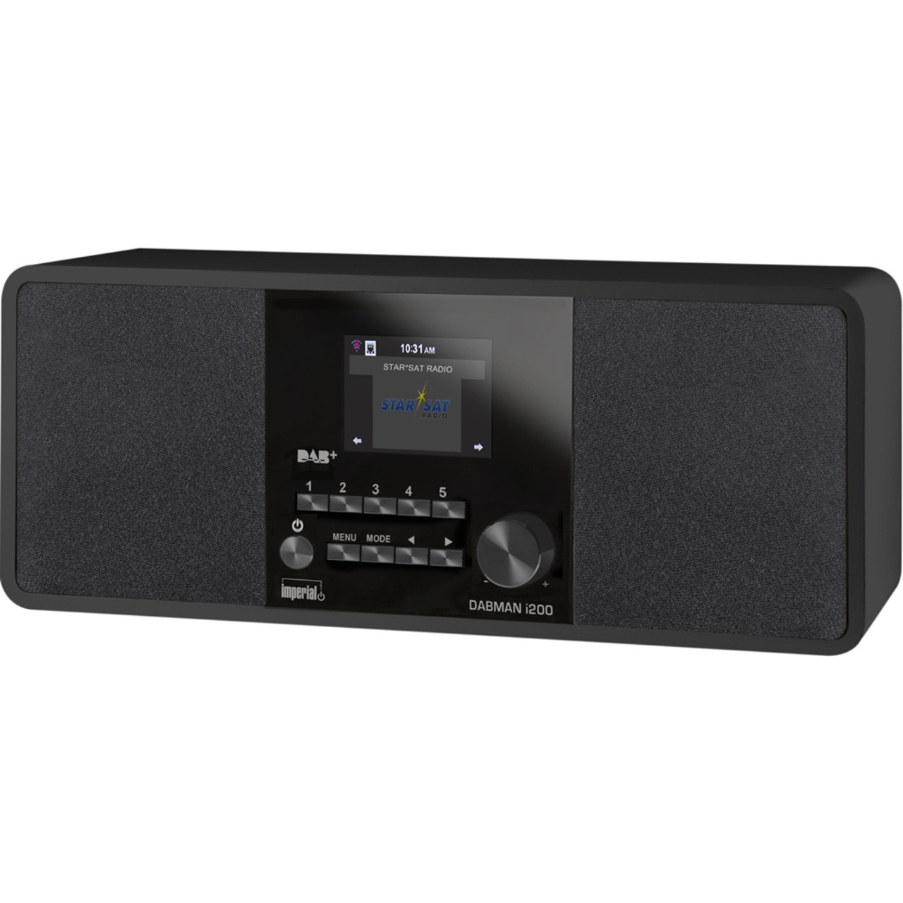 Imperial Digitalradio DABMAN i200- UKW-DAB+-Internetradio- App-Steuerung- schwarz