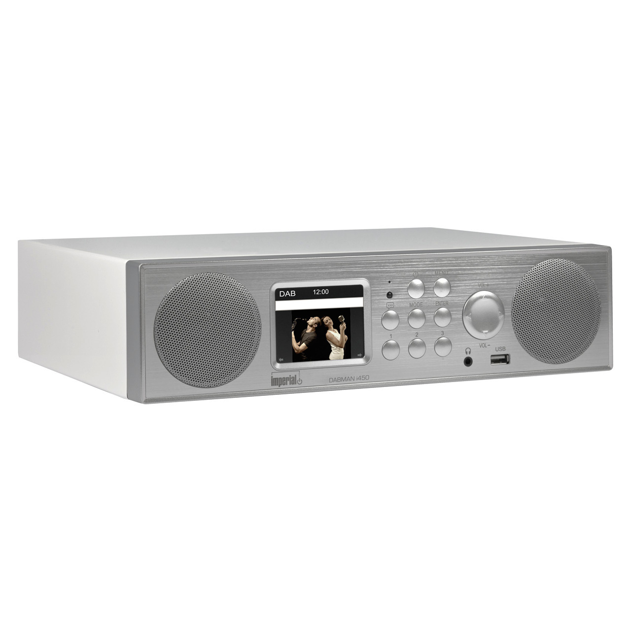 Imperial Hybrid-Küchen-Tischradio Dabman i450- UKW-DAB+-Internet- DLNA- Bluetooth- USB