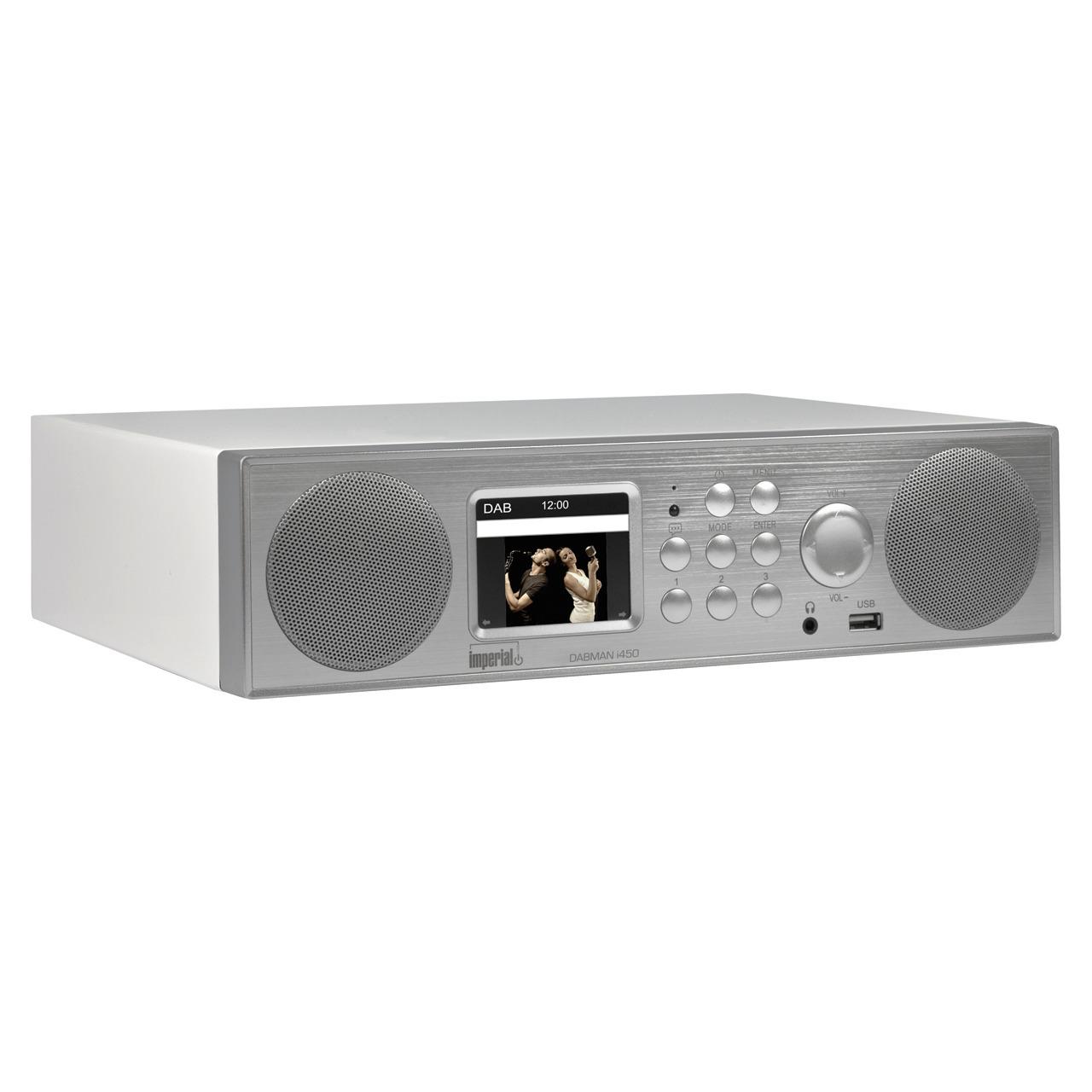 Imperial Hybrid-Kund-252 chen-Tischradio Dabman i450- UKW-DAB+-Internet- DLNA- Bluetooth- USB
