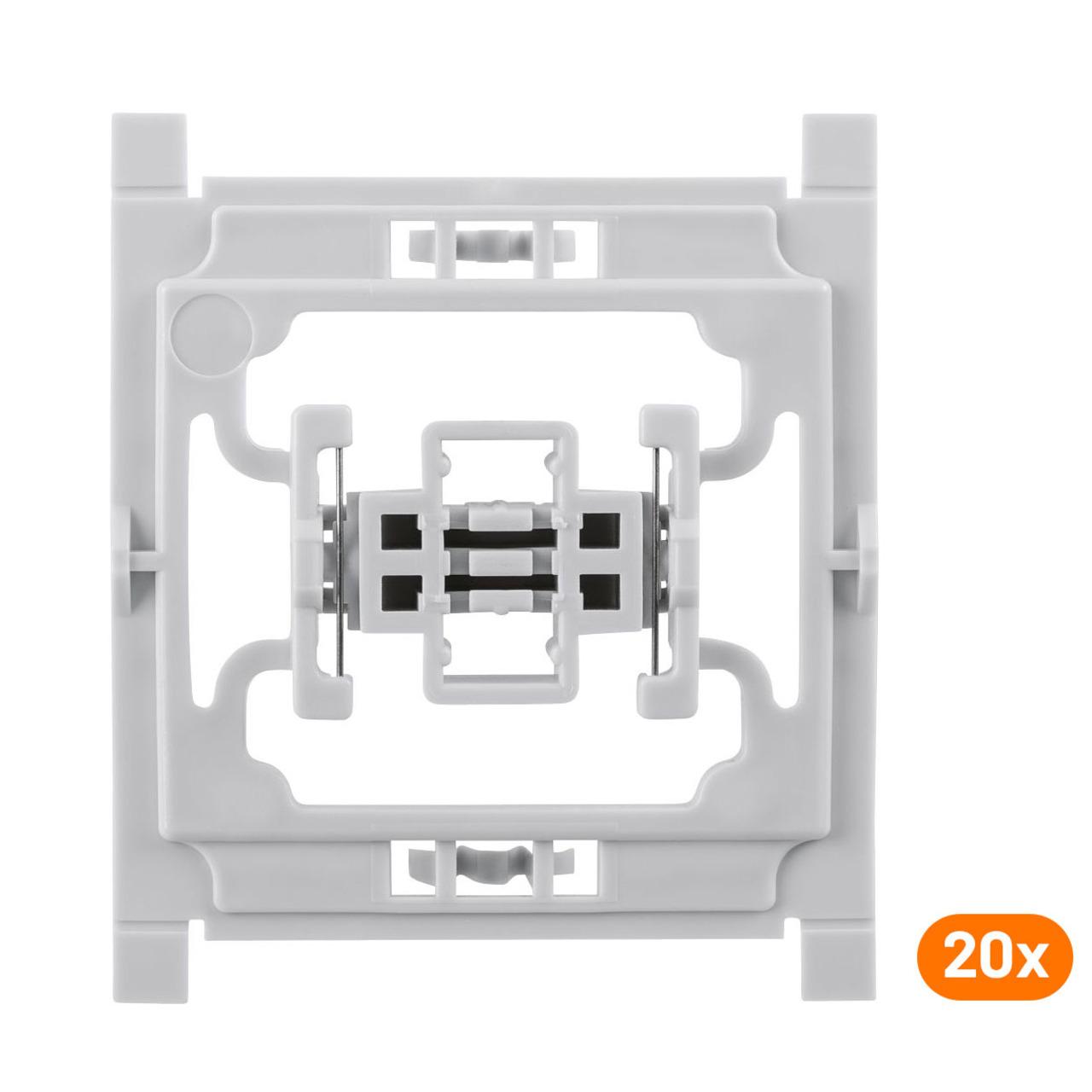 Installationsadapter für Siemens-Schalter- 20er-Set- für Smart Home - Hausautomation