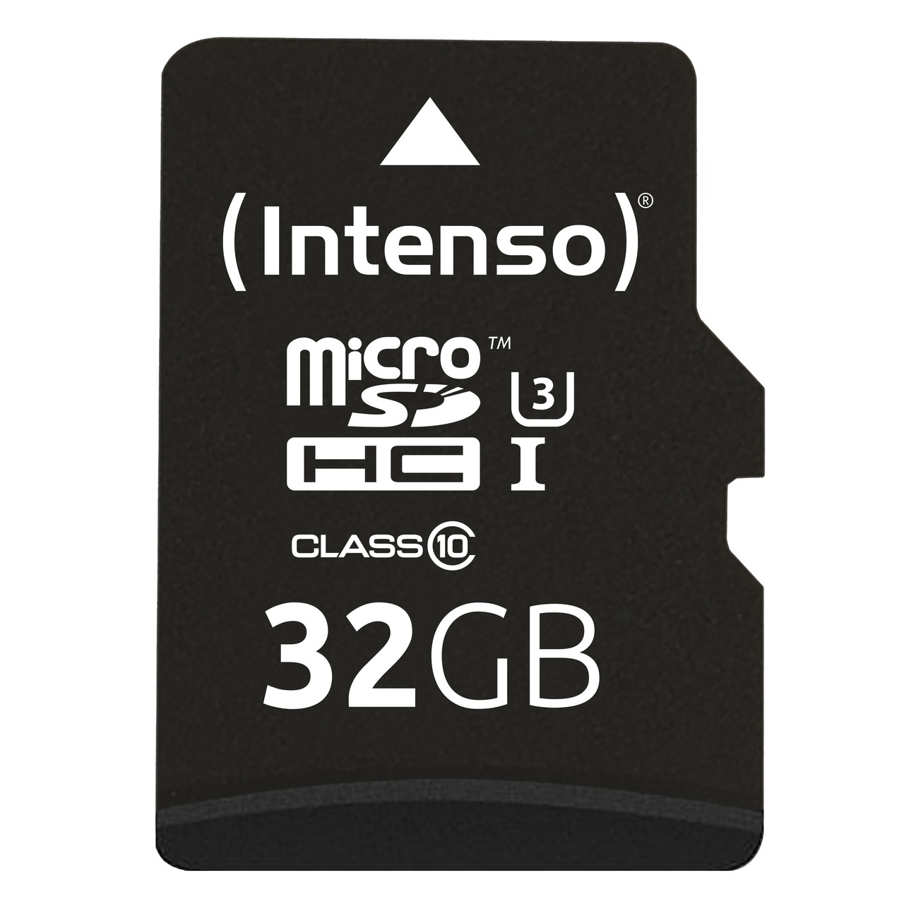 Intenso microSDHC-Karte- Class 10- UHS-I Professional- mit SD-Adapter- 90 MB-s- 32 GB