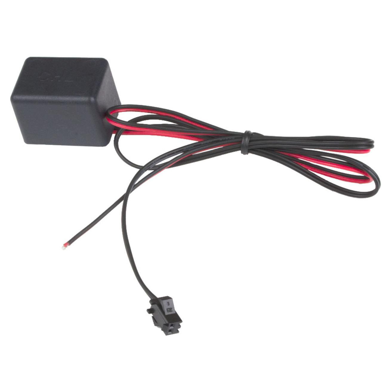 Inverter 12V für Leuchtfolien bis 200 qcm