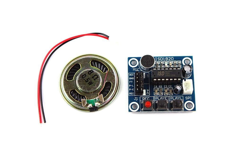 ISD1820 Voice Recorder - Stimmen- Soundrecorder für Arduino