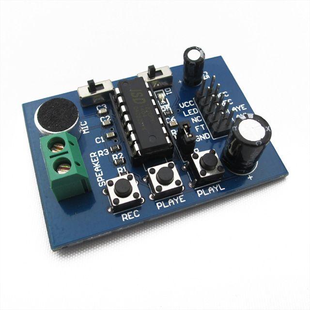 ISD1820 Voice Recorder - Stimmen- Soundrecorder mit Terminal für Arduino