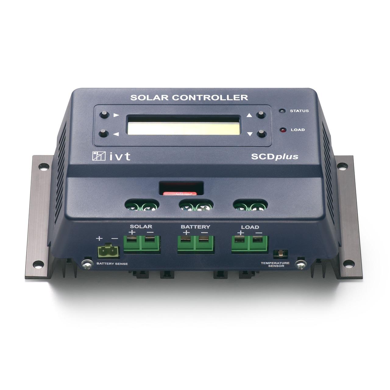 IVT Solarcontroller SCD-40- 40A plus mit Display