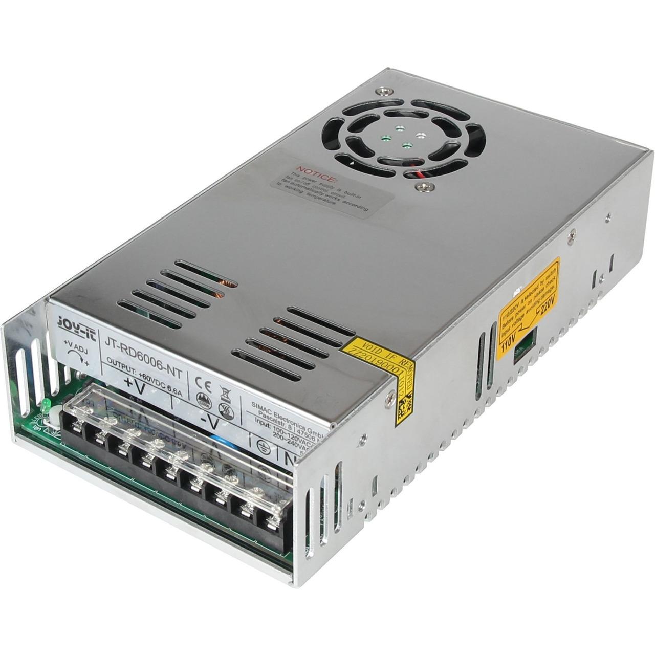 Joy-IT-Netzteil JT-RD6006-NT für das JT-RD6006 mit 60 V-6-6 A  400 W